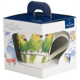 Фото: Бокал Villeroy&Boch Animals of the World, попугай