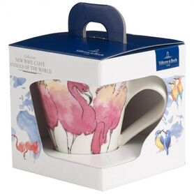 Фото: Бокал Villeroy&Boch Animals of the World, розовый фламинго