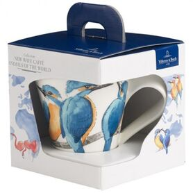 Фото: Бокал Villeroy&Boch Animals of the World, зимородок